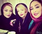 سلفی جدید الهام حمیدی، ساره بیات و شقایق فراهانی