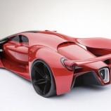 طراحی جالب فراری سوپر اسپورت F80+عکس