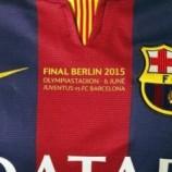 پیراهن های ویژه باشگاه بارسلونا برای فینال لیگ قهرمانان ۲۰۱۵