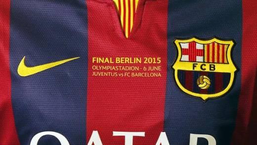 پیراهن های ویژه باشگاه بارسلونا برای فینال لیگ قهرمانان